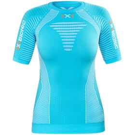 X-Bionic Effektor Running Power Shirt SS Women Turquoise/White